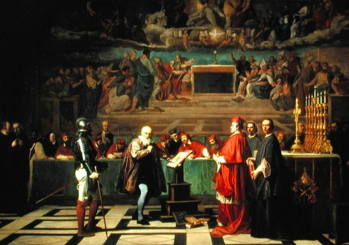 Galileo-Galilei-before-members-of-the-Holy-Office-in-the-Vatican-in-1633,-1847-large